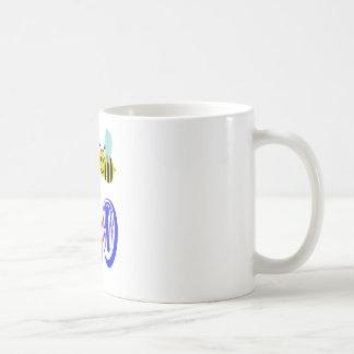 happy 2 bee hitting 180 coffee mug