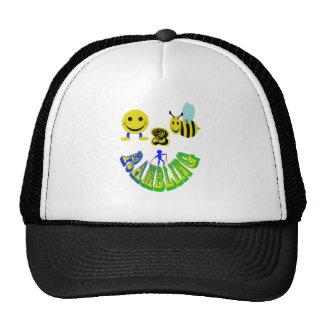 happy 2 bee rambling trucker hat