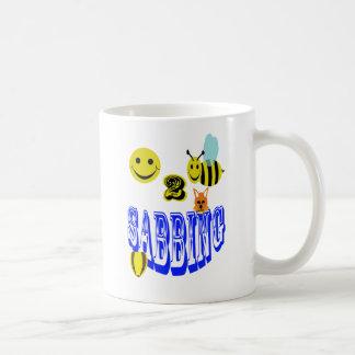 happy 2 bee sabbing coffee mug
