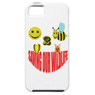 Happy 2 bee saving our wildlife iPhone 5 case