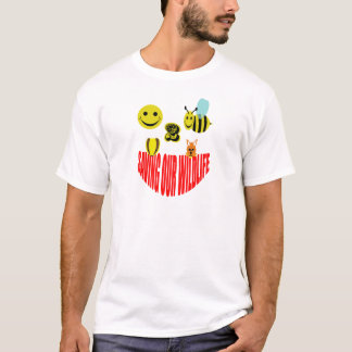 Happy 2 bee saving our wildlife T-Shirt