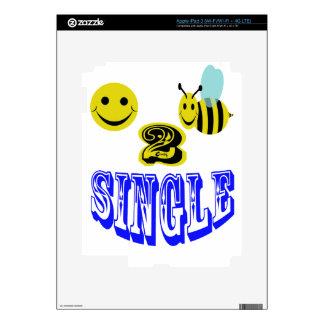 happy 2 bee single iPad 3 decal