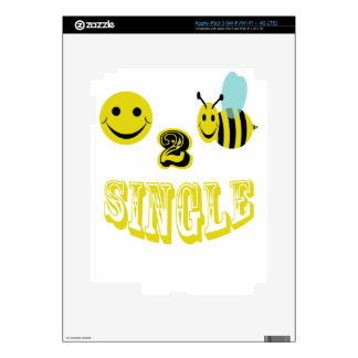 happy 2 bee single iPad 3 skins
