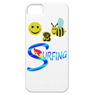happy 2 bee surfing iPhone 5 covers