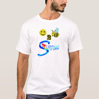 happy 2 bee surfing T-Shirt