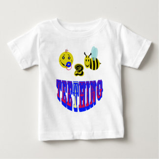 happy 2 bee teething baby T-Shirt