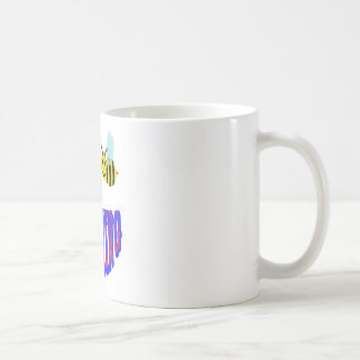 happy 2 bee teething coffee mug