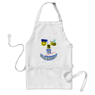 happy 2 bee the braykneeest adult apron