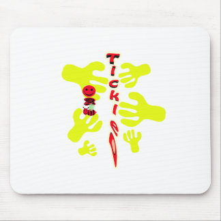 happy 2 bee tickled mouse pad