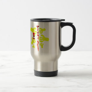 happy 2 bee tickled travel mug
