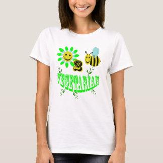 happy 2 bee vegetarian T-Shirt