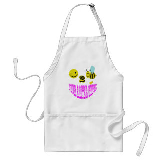 happy 2 bee your easter chick adult apron
