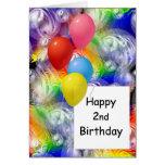 Happy 2nd Birthday Greeting Cards