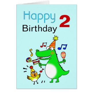 Happy Birthday 2 Year Old Greeting Cards Zazzle Happy Birthday Wishes For Two Year