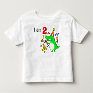 Happy 2nd Birthday ( I am 2 ) Toddler T-shirt