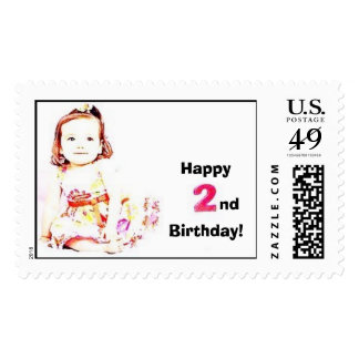 Happy 2nd Birthday! Postage