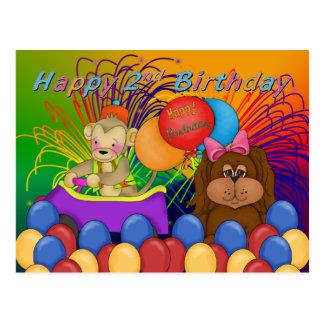 Happy 2nd Birthday Post Card