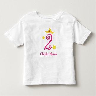 Happy 2nd Birthday, Princess! T Shirt