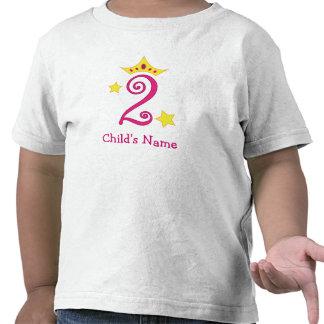 Happy 2nd Birthday, Princess! Shirts