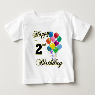 Happy 2nd Birthday Shirts and Birthday Apparel