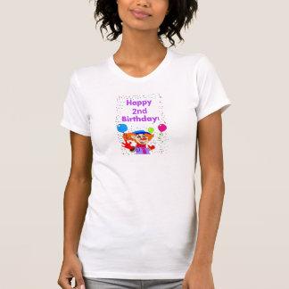 Happy 2nd birthday T-shirt