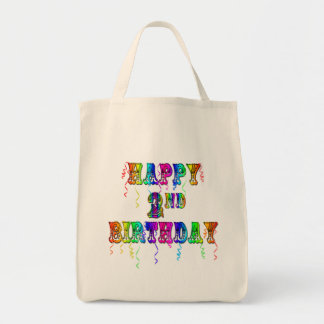 Happy 2nd Birthday Toddler Birthday Gifts Tote Bag