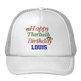 Happy 30th Birthday Trucker Hat