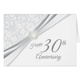 Happy 30th Wedding Anniversary Card