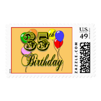 Happy 35th Birthday Gifts Postage