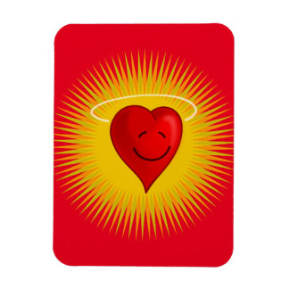 happy-37310 happy face sun cartoon heart angel fre magnet