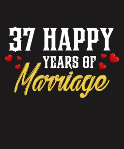Happy 37th Anniversary Gifts On Zazzle
