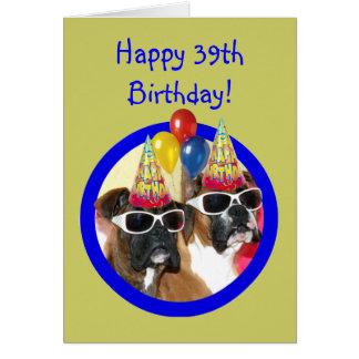 Happy Birthday 39th Greeting Cards Zazzle Happy 39th Birthday Wishes