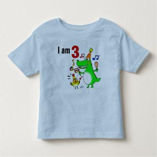 Happy 3rd Birthday ( I am 3 ) Toddler T-shirt