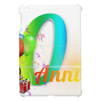 Happy 40th Anniversary Number  Balloon Party iPad Mini Cases