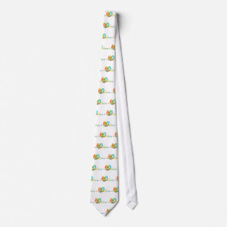 Happy 40th Anniversary Number  Balloon Party Tie
