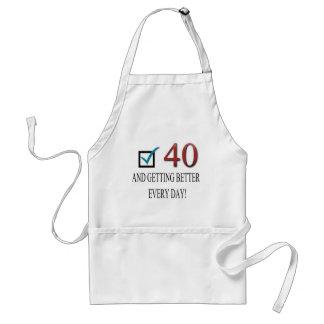 Happy 40th Birthday Apron