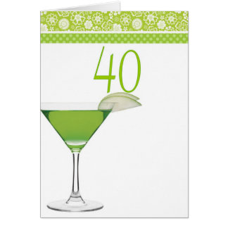 Happy 40th Birthday Cards