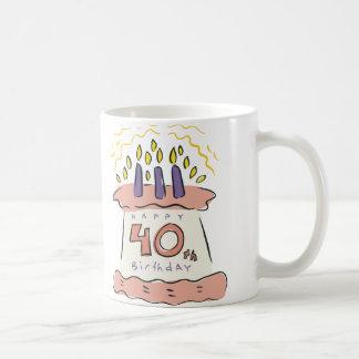 Happy 40th Birthday! Coffee Mug