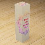 Happy 40th Birthday Mom Wine Box