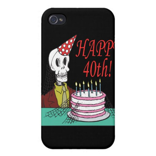 Happy 40th iPhone 4 case