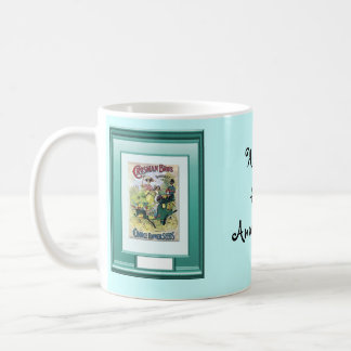Happy 41st Anniversary, Lady in the garden Coffee Mugs