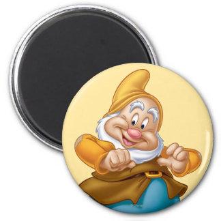 Happy 4 2 inch round magnet