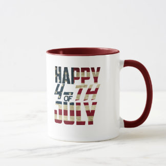 Happy 4-th OF July Mug | LimeSky
