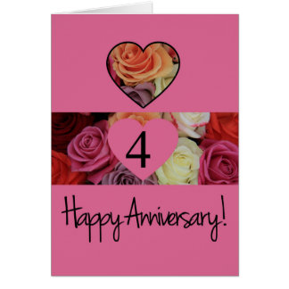 4th marriage anniversary