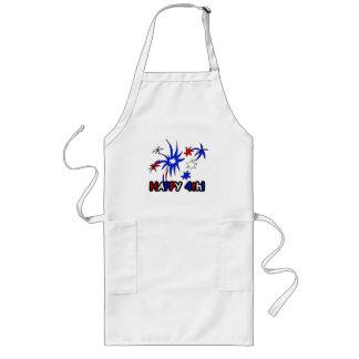 Happy 4th long apron