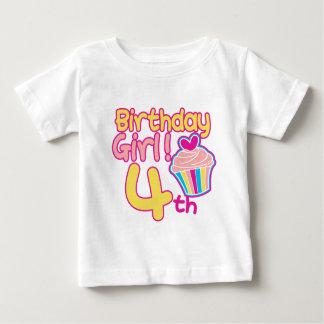Happy 4th Birthday! Baby T-Shirt