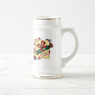Happy 4th Birthday Gifts Beer Stein
