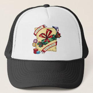 Happy 4th Birthday Gifts Trucker Hat