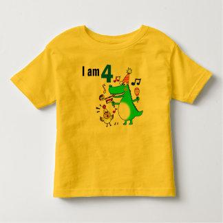 Happy 4th Birthday ( I am 4 ) Toddler T-shirt