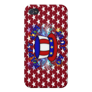 Happy 4th July Crackers iPhone 4/4S Cover